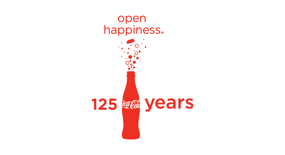 Coca-Cola 125 Years Logo