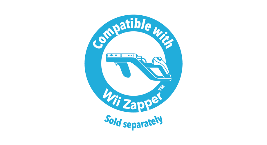Compatible with Wii Zapper Logo