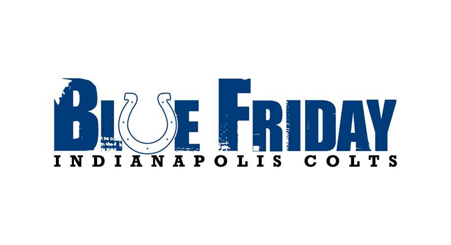 Indianapolis Colts Blue Friday Logo