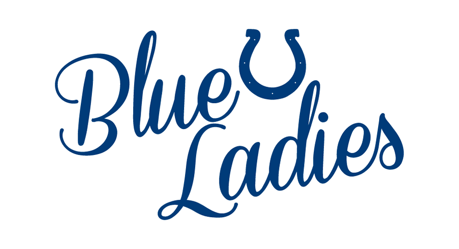 Indianapolis Colts Blue Ladies Logo