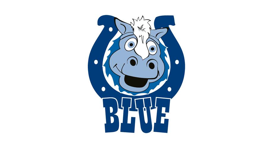Indianapolis Colts BLUE Logo