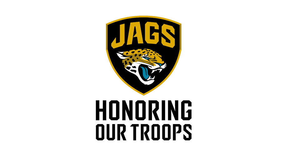 Jacksonville Jaguars Honoring Our Troops Logo