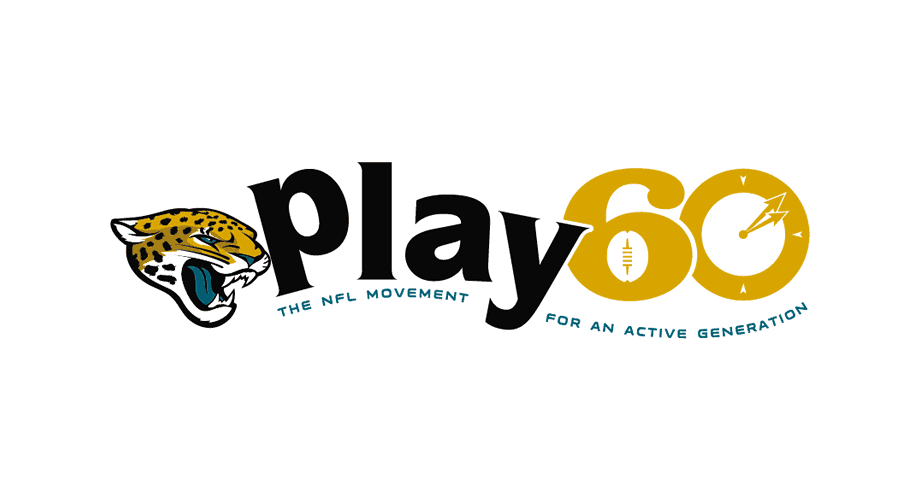 Jacksonville Jaguars Play 60 Logo