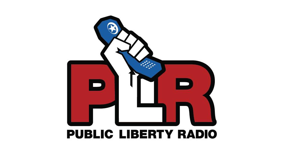 PLR Public Liberty Radio Logo