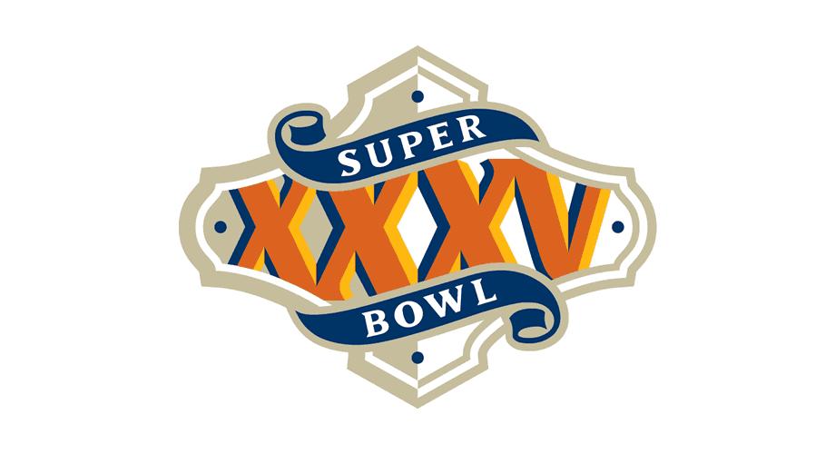 Super Bowl 2000 Logo