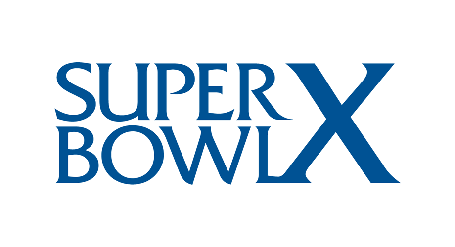 Super Bowl X Logo