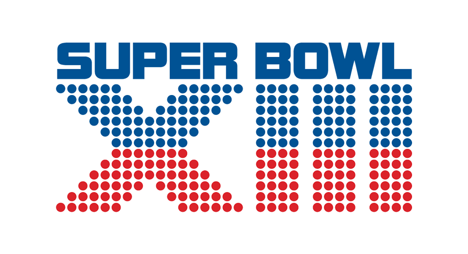 Super Bowl XIII Logo