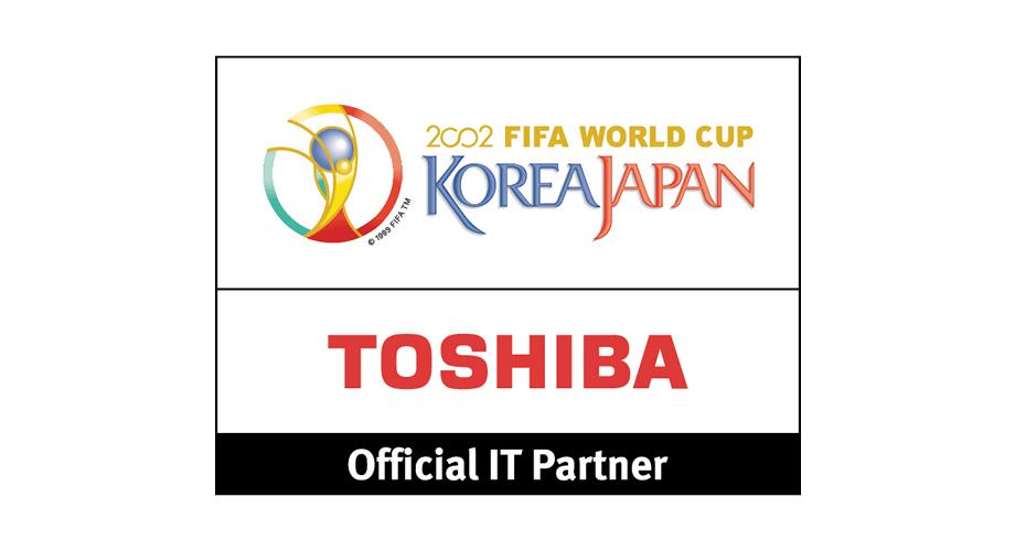 Toshiba 2002 FIFA World Cup Logo