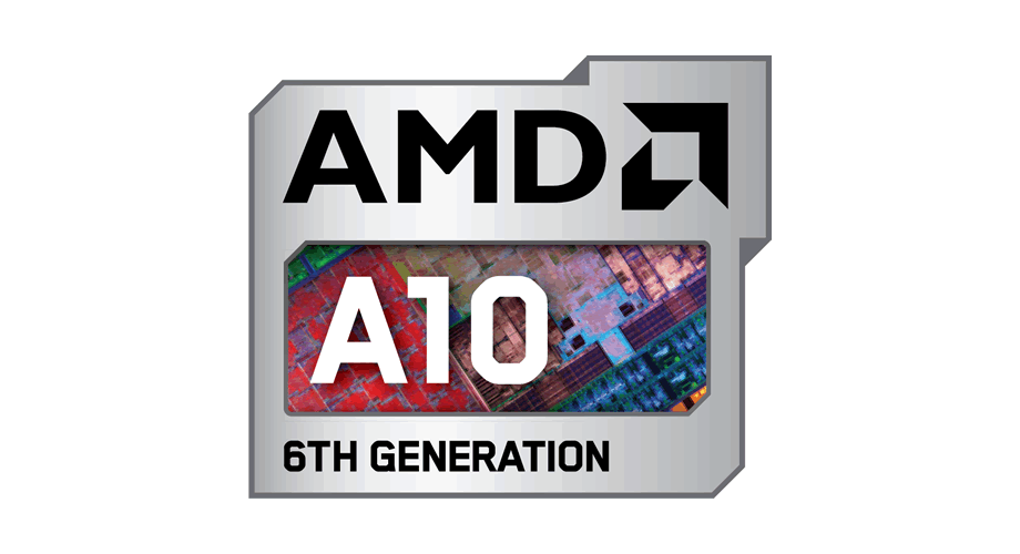 AMD A10 6TH Generation Logo