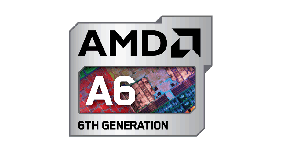 AMD A6 6TH Generation Logo