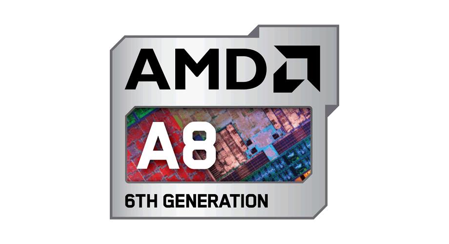 AMD A8 6TH Generation Logo