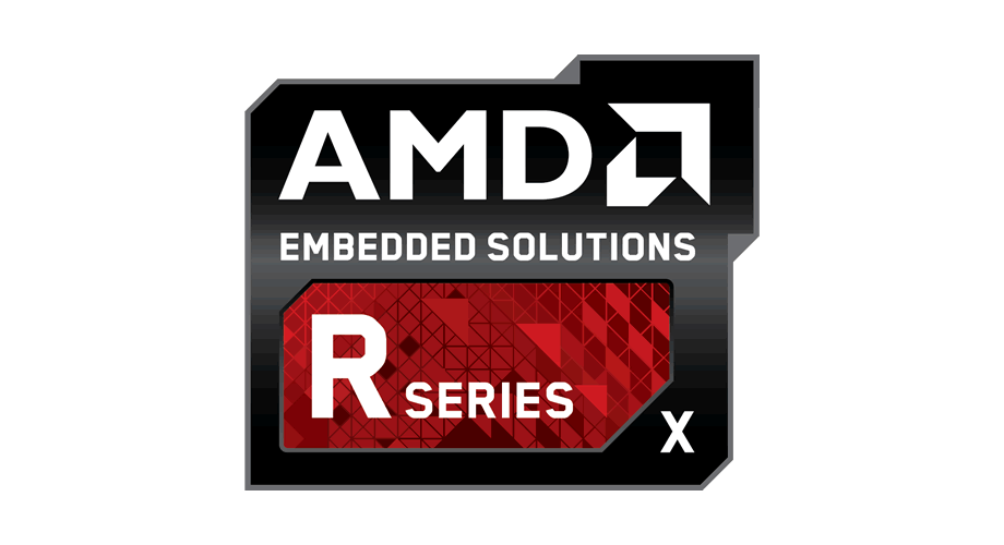 AMD Embedded Solutions R Series X Logo
