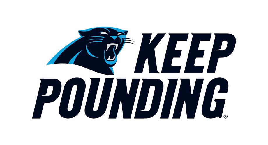 Carolina Panthers Keep Pounding Logo