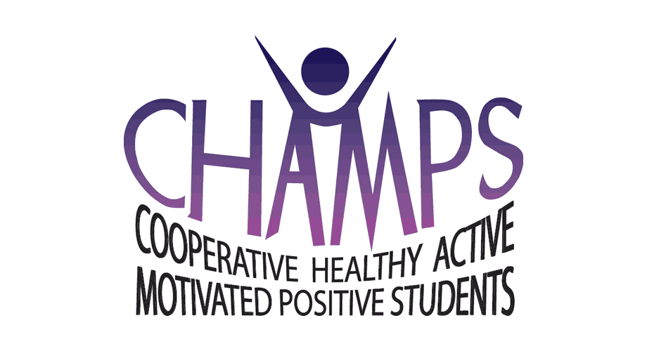 CHAMPS Middle School Flag Football League Logo