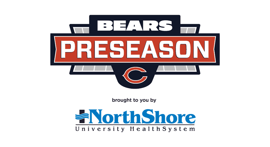 Chicago Bears Preseason Television Logo