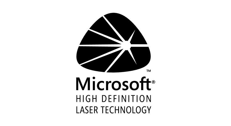 Microsoft High Definition Laser Technology Logo