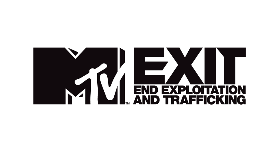 MTV EXIT (End Exploitation and Trafficking) Logo