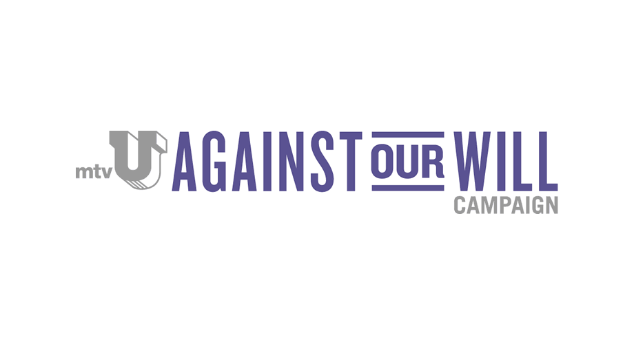 mtvU Against Our Will Campaign Logo