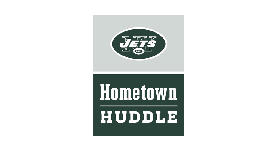 New York Jets Hometown Huddle Logo