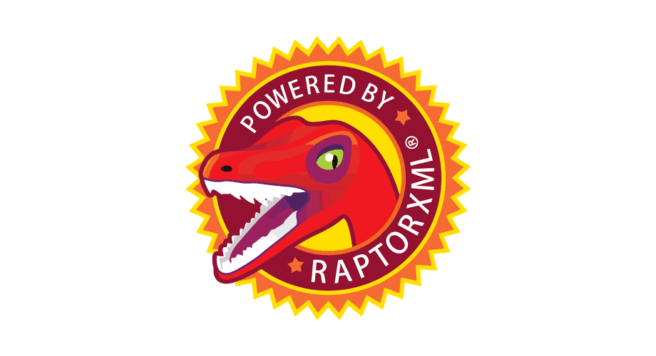 POWERED BY RAPTORXML Logo