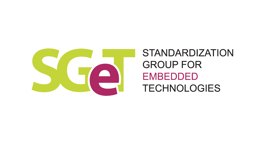Standardization Group for Embedded Technologies e.V. (SGeT) Logo