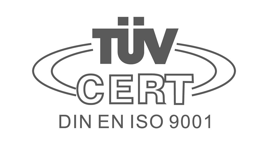 TUV Cert DIN EN ISO 9001 Logo