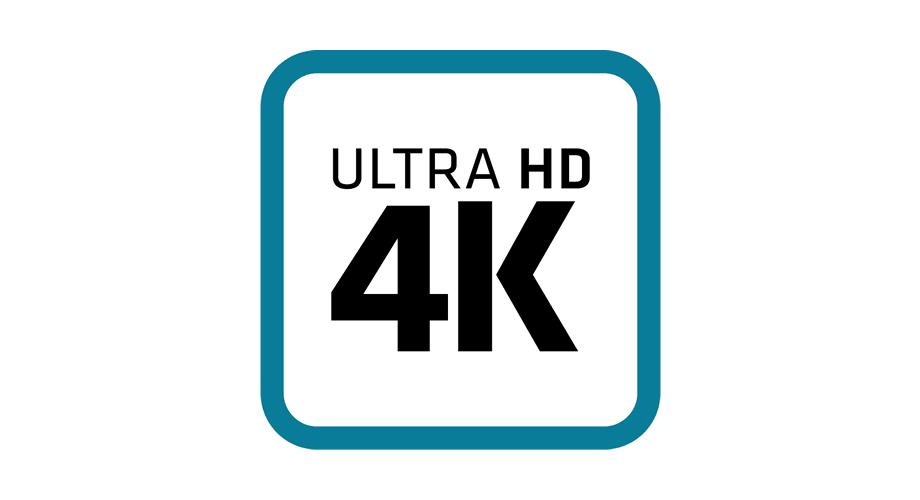 Ultra HD 4K Logo