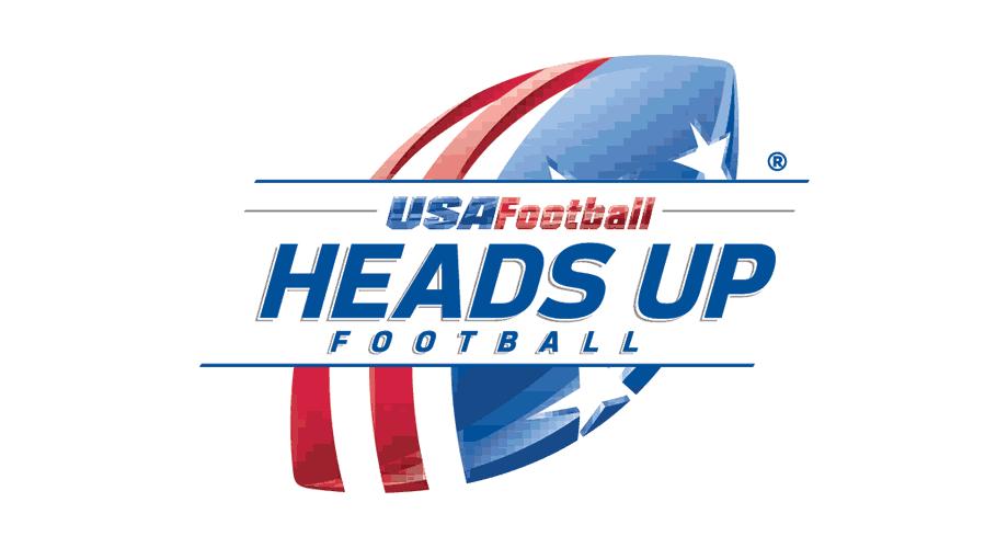USA Football Heads Up Football Logo