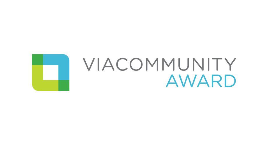 Viacommunity Award Logo