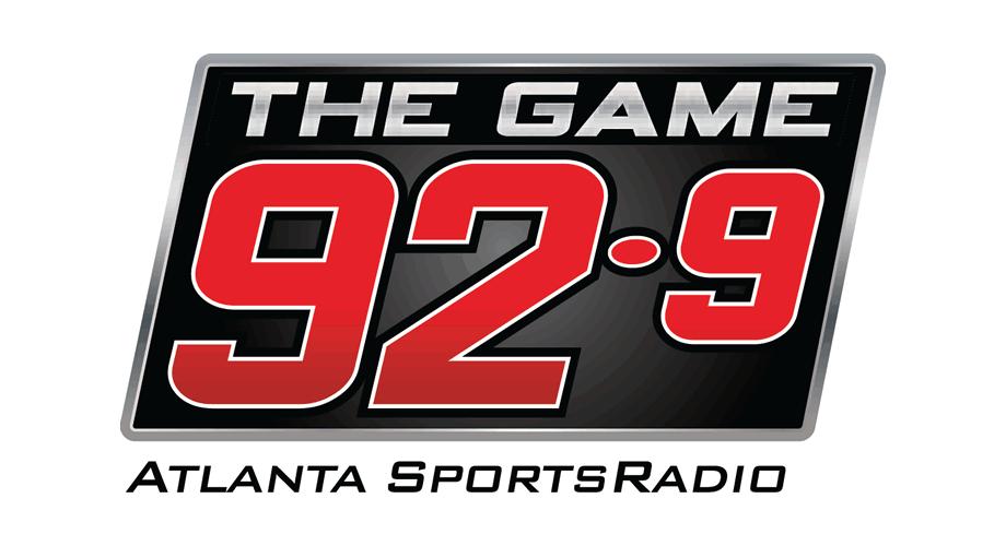 WZGC FM (92.9 The Game) Logo
