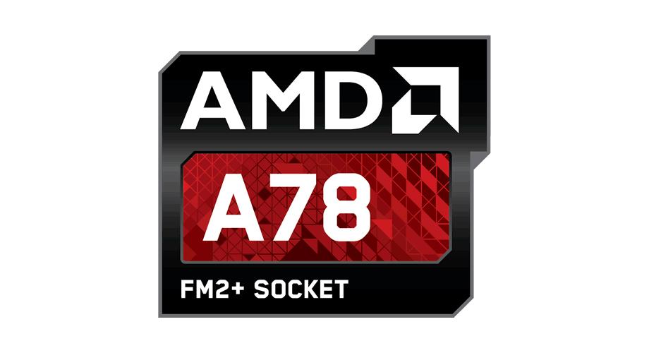 AMD A78 FM2+ Socket Logo