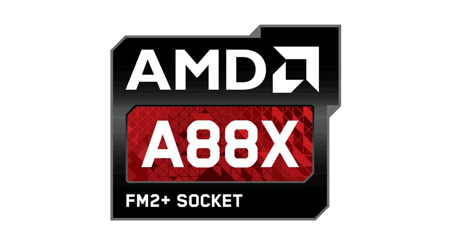 AMD A88X FM2+ Socket Logo