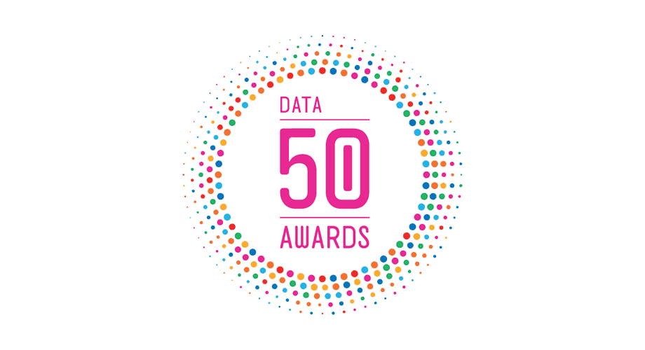 Data 50 Awards Logo