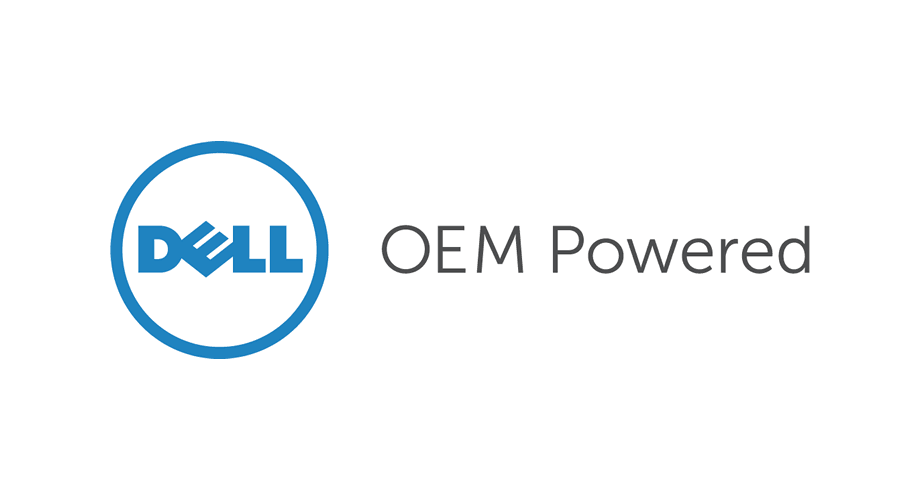 Dell OEM Powered Logo