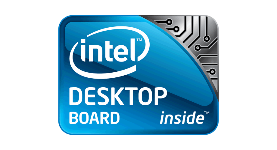 intel desktop board inside logo download ai all vector