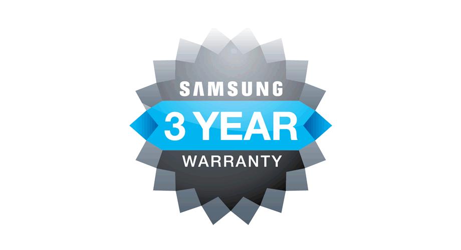 Samsung 3 Year Warranty Logo