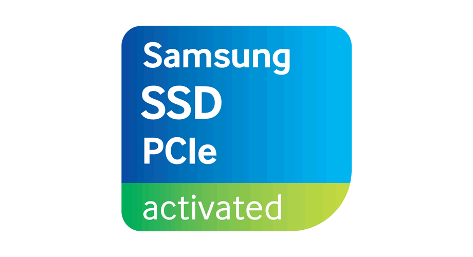 Samsung SSD PCie Activated Logo