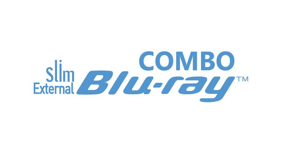 Slim External Blu-ray Combo Logo