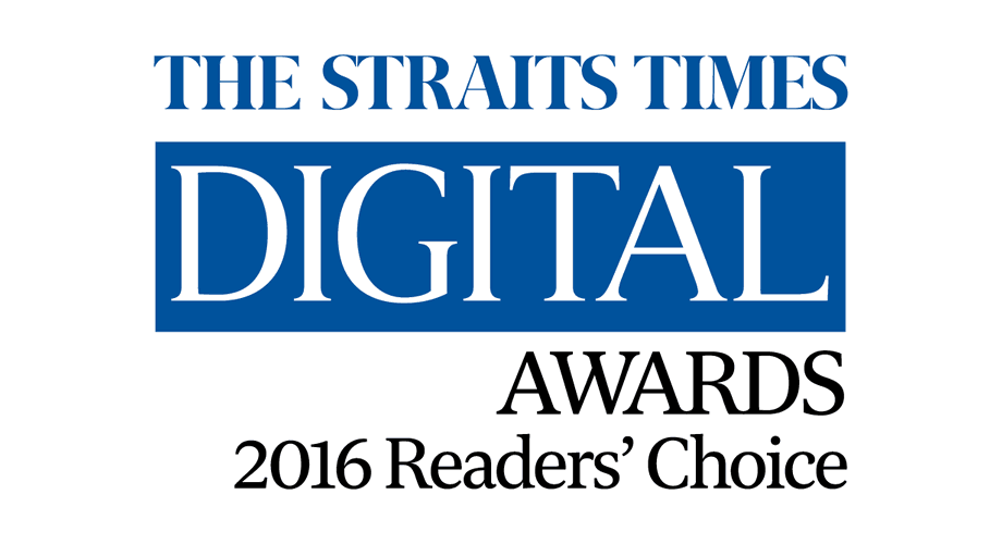 The Straits Times Digital Awards 2016 Readers' Choice Logo