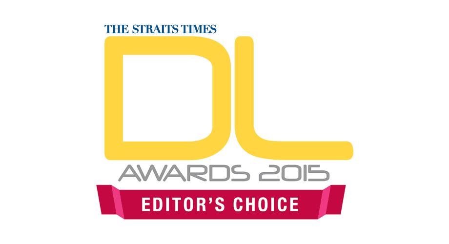 The Straits Times DL Awards 2015 Editor's Choice Logo