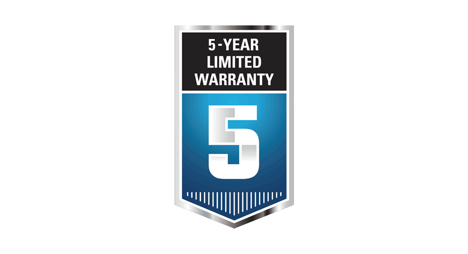 5-Year Limited Warranty Logo