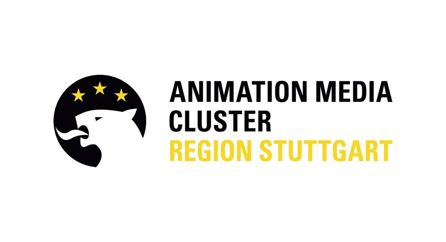 Animation Media Cluster Region Stuttgart Logo
