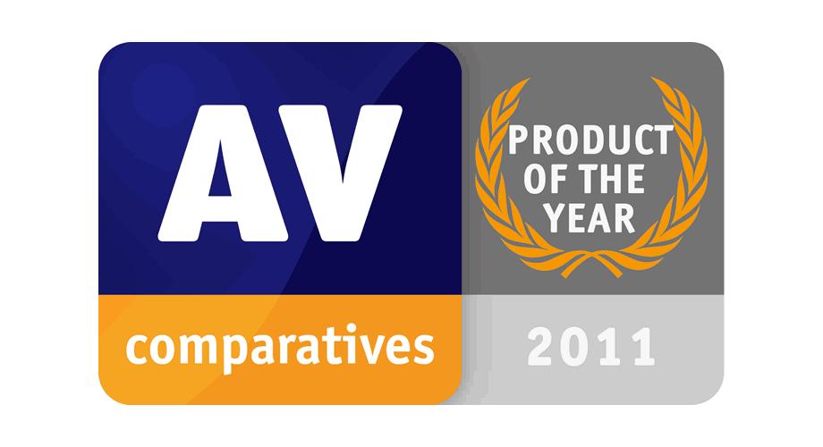 AV-Comparatives Product Of The Year 2011 Logo