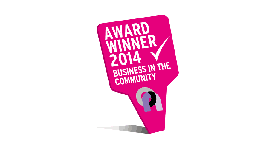 Business In The Community Award Winner 2014 Logo