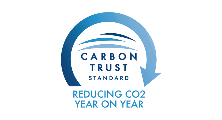 Carbon Trust Standard Reducing CO2 Year on Year Logo