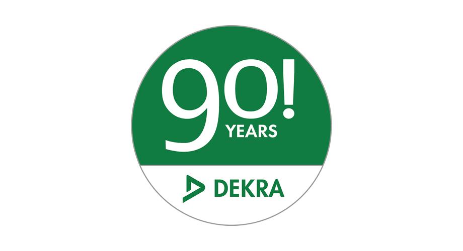 DEKRA 90 Years Logo