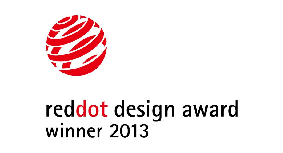 Red Dot Design Award Winner 2013 Logo