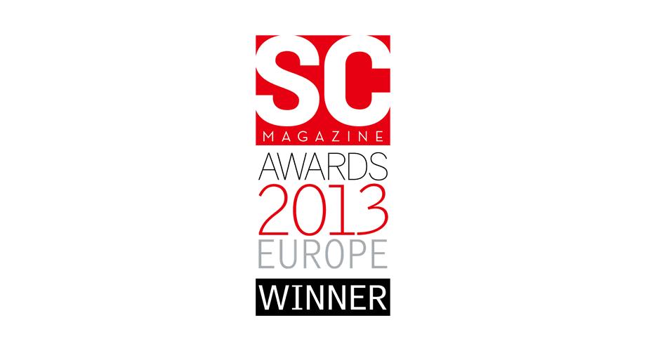 SC Magazine Awards 2013 Europe Winner Logo