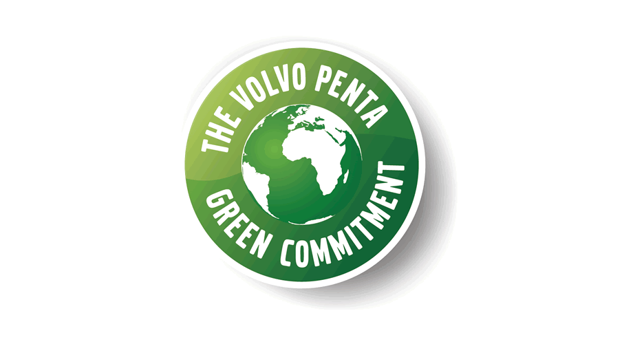 The Volvo Penta Green Commitment Logo