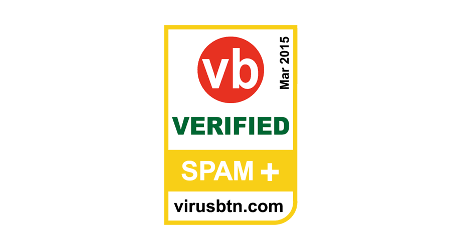 VB Verified SPAM+ Logo